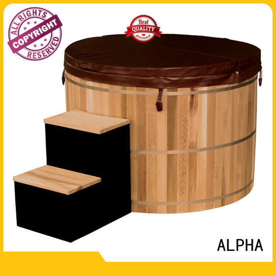 ALPHA heater small hot tubs directly sale for outdoor