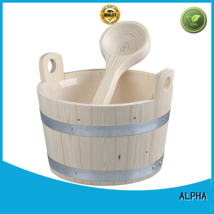 ALPHA cedarspruce sauna accessories wholesale for villa