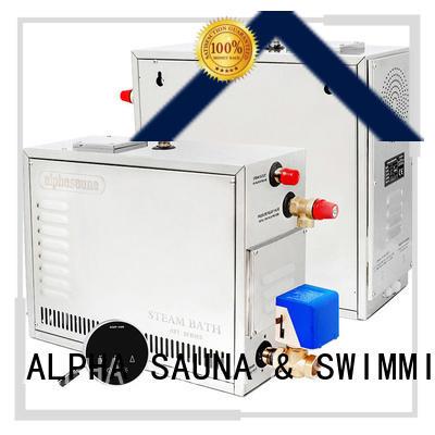 ALPHA waterproof sauna steamer series for bathroom