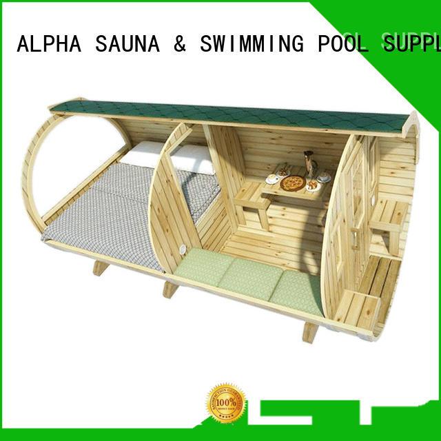 glamping pods length for villa ALPHA