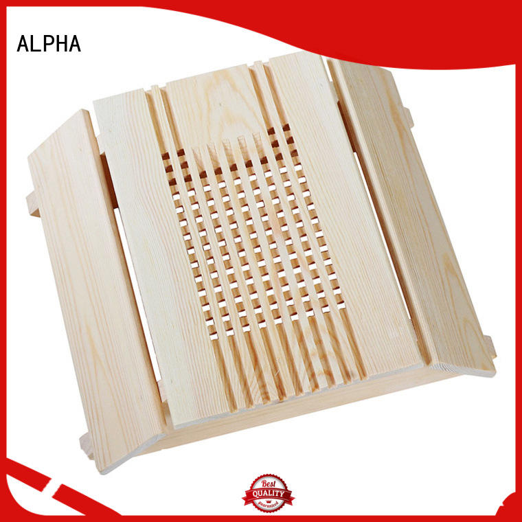 ALPHA wooden lampshade factory