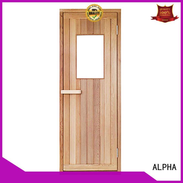 ALPHA western steam room door doors for bathroom