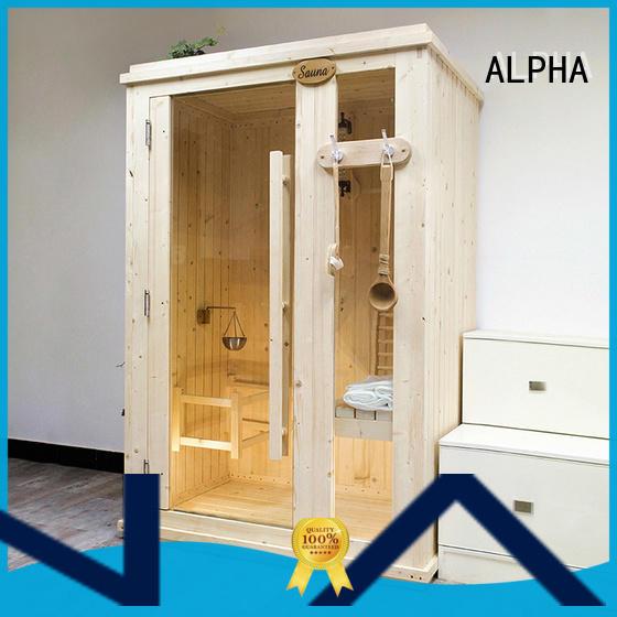 quality 2 person sauna cedar supplierfor bathroom