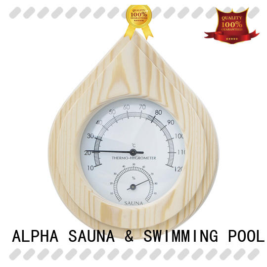 oblong sauna thermometer hygrometer alphasauna supplier for household