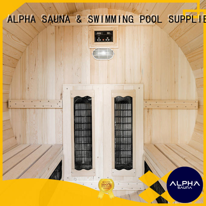 room outdoor sauna with good price for outdoor ALPHA