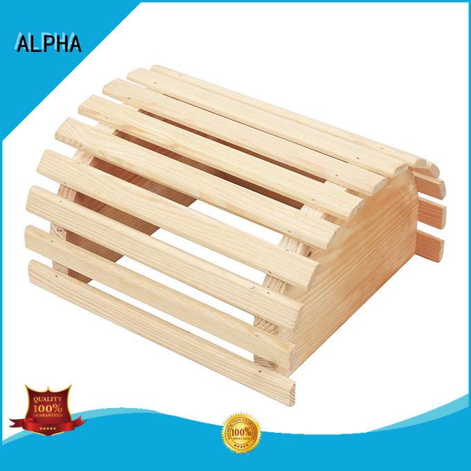 ALPHA shade sauna products manufacturer for cabin