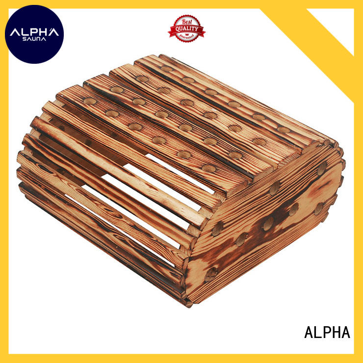 ALPHA lamp wooden lampshade inquire now for villa