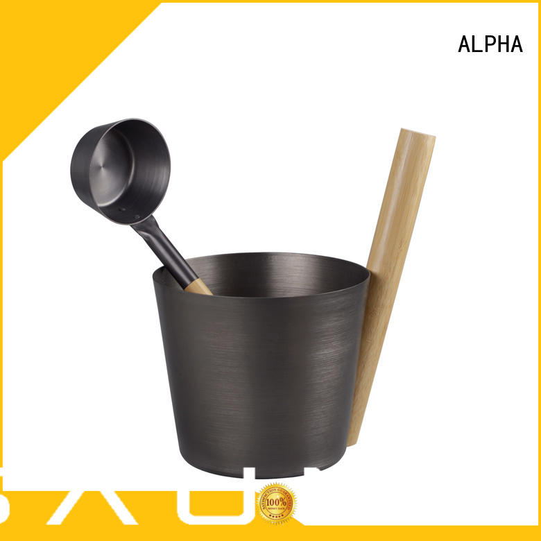 New sauna bucket Supply