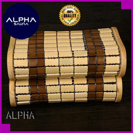 ALPHA durable sauna headrest pillow for bathroom