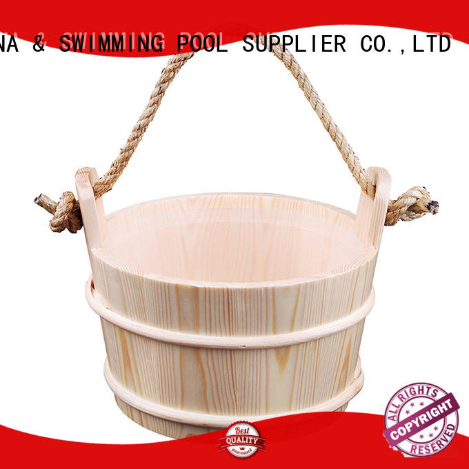 ALPHA painting sauna spoon with good price for outdoor