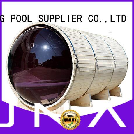 certificated outdoor steam sauna supplier for outdoor ALPHA