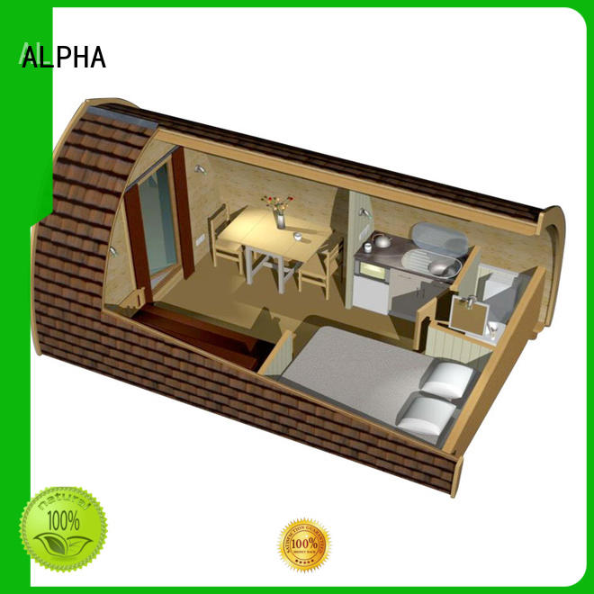 ALPHA camping house for business