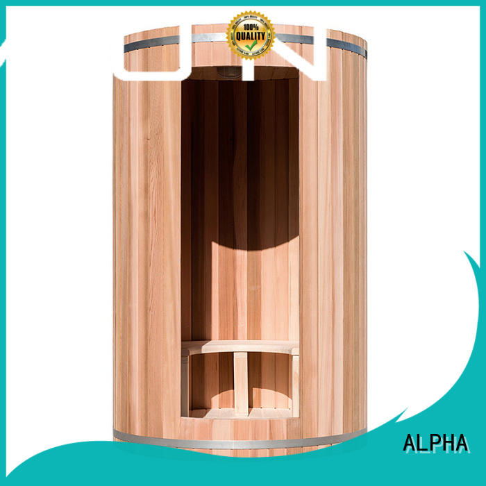 ALPHA indoor sauna factory