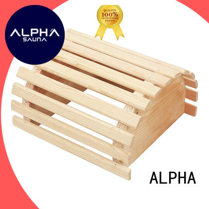 ALPHA shades sauna products with good price for villa