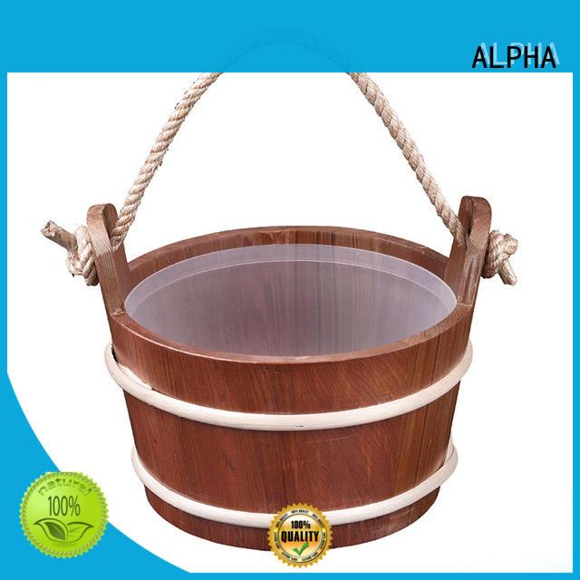 New sauna bucket and spoon Supply