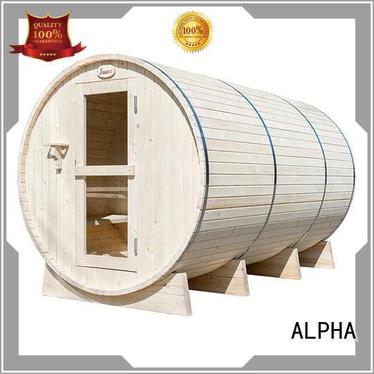 Top outdoor sauna company