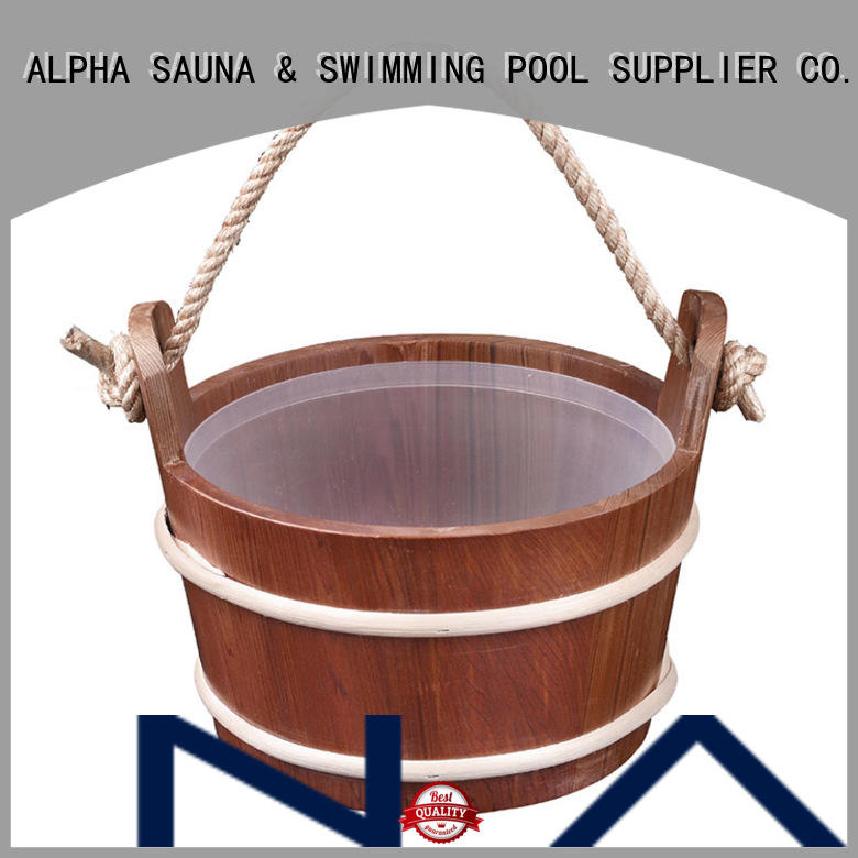 ALPHA strong sauna accessories factory price for cabin