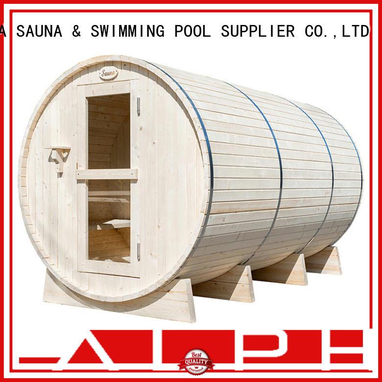 ALPHA heater barrelsauna factory price for indoor
