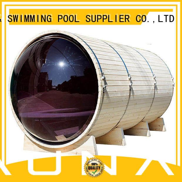 ALPHA sauna panoramic sauna supplier for bathroom
