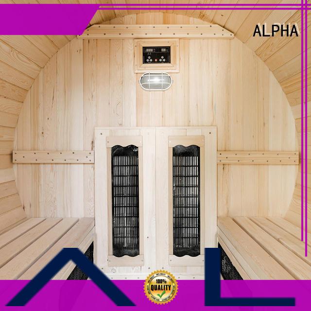 ALPHA Wholesale sauna room company