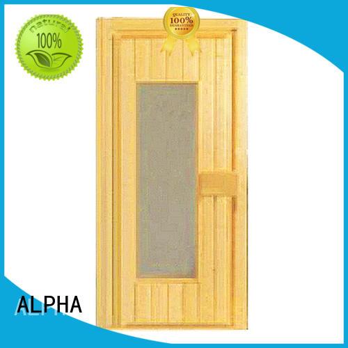 doors size ALPHA Brand sauna door