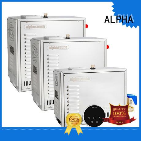 ALPHA luxury sauna equipment personalized for hotel