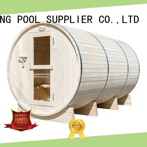 ALPHA outdoor outdoor sauna manufacturer for villa