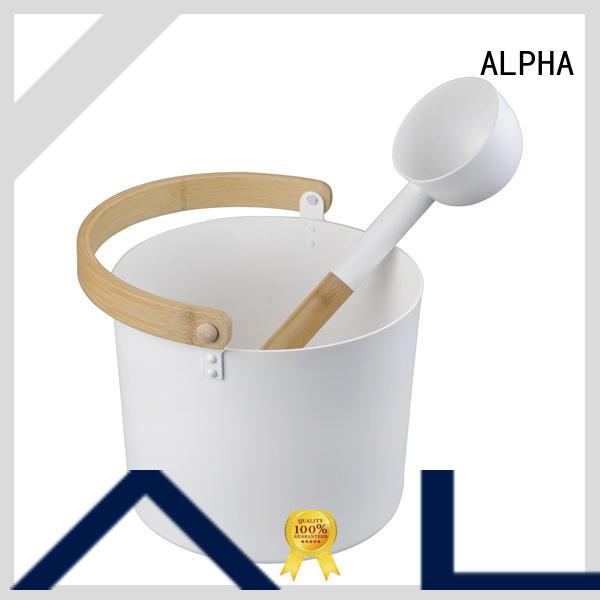ALPHA enough sauna accessories wholesale for hotel