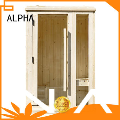 ALPHA New indoor steam sauna kits manufacturers