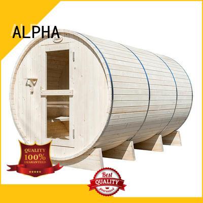 ALPHA electrical sauna room pine for cabin