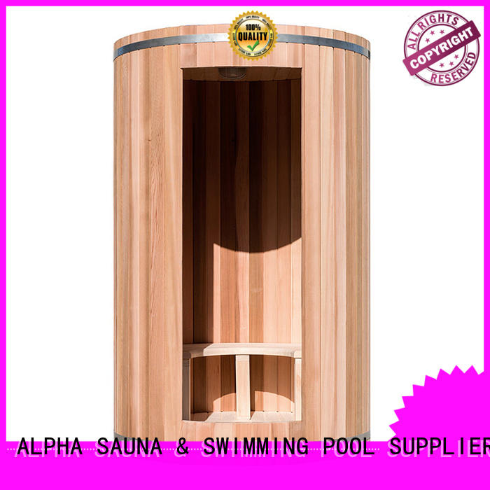 ALPHA thick home steam sauna directly sale for bathroom