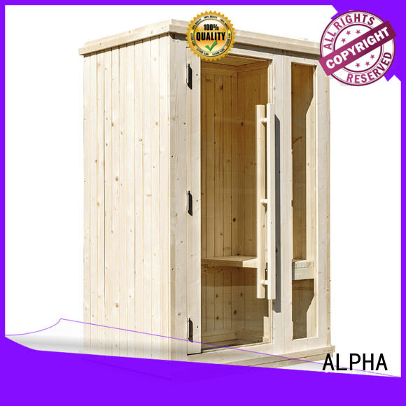 ALPHA mini sauna company