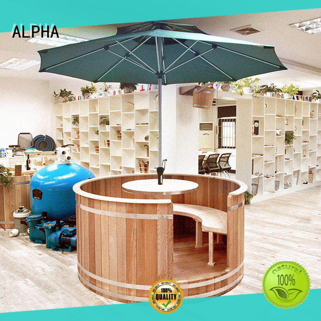 ALPHA person cedar sauna wholesale for bathroom