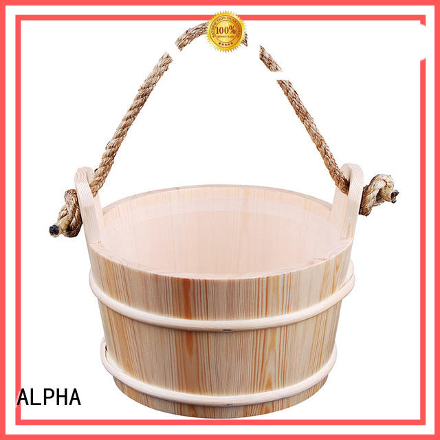 ALPHA painting sauna products with good price for villa