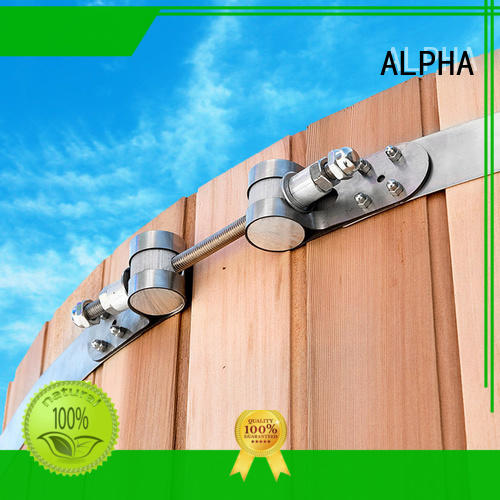 ALPHA Best large hose clamps company