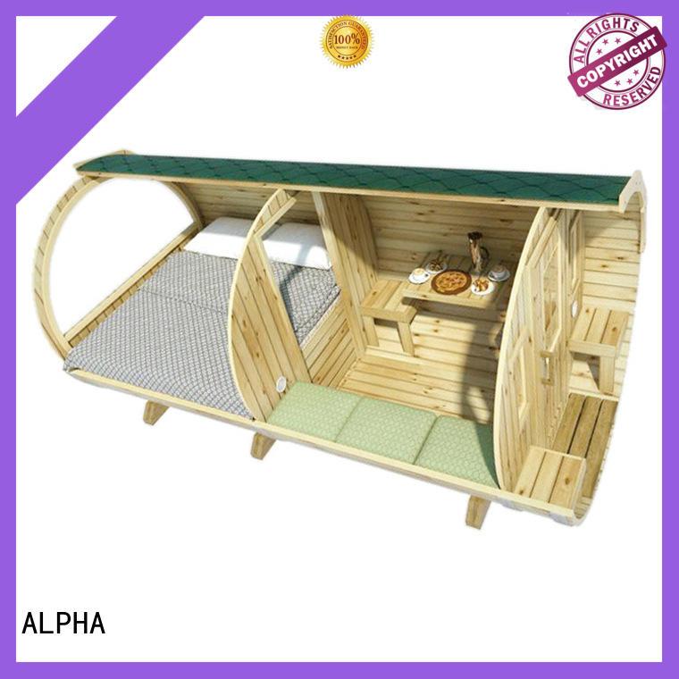 barrel house height for villa ALPHA