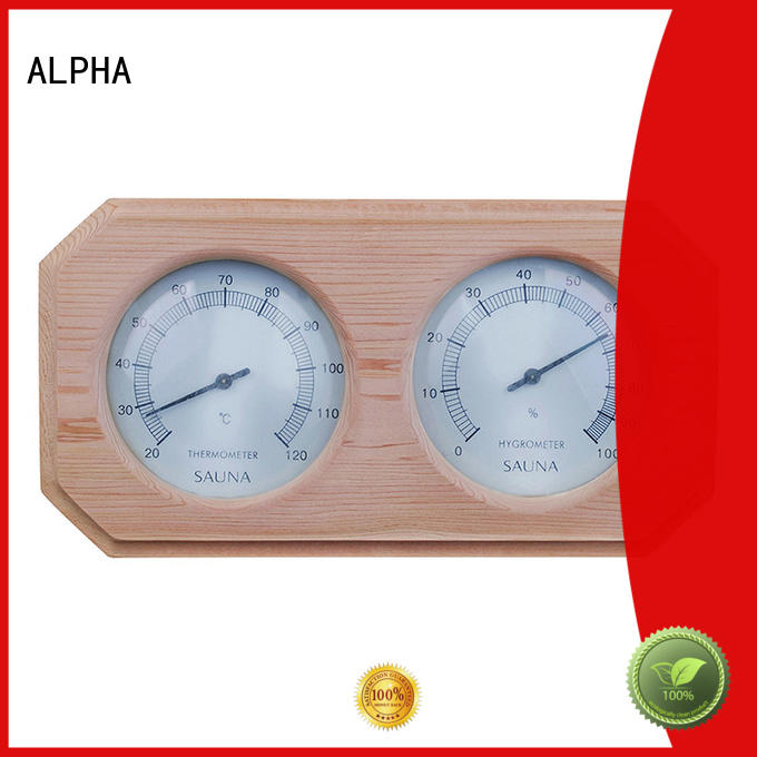 ALPHA oblique sauna products golden for household