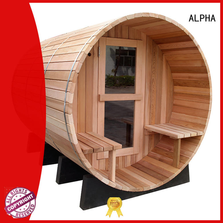 Canadian outdoor sauna spa series for bathroom