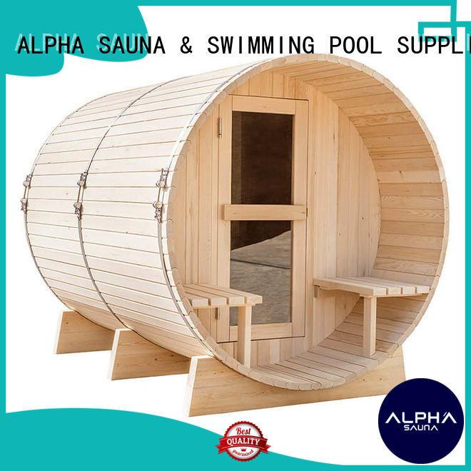 ALPHA barrelsauna Supply