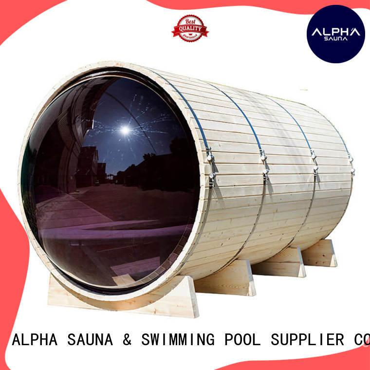 outside sauna canopy for indoor ALPHA
