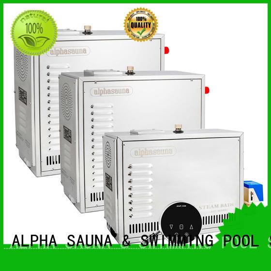 ALPHA sauna steam room equipment series for household