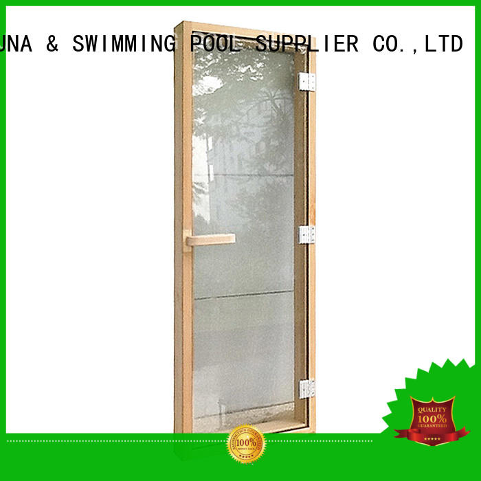 western steam room door tempered personalized for villa