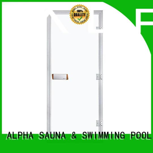 sauna wood door steel sauna door frame company