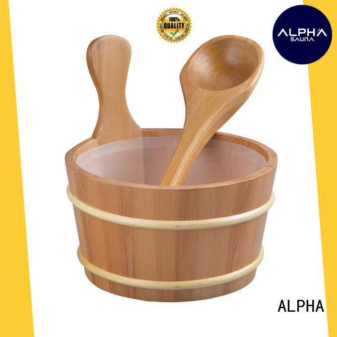 ALPHA High-quality sauna products factory
