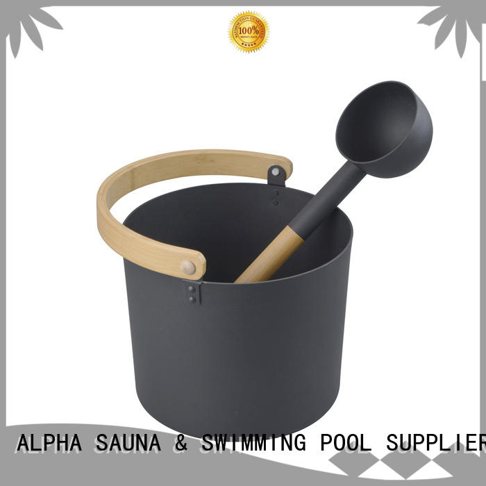 ALPHA sauna accessories for business