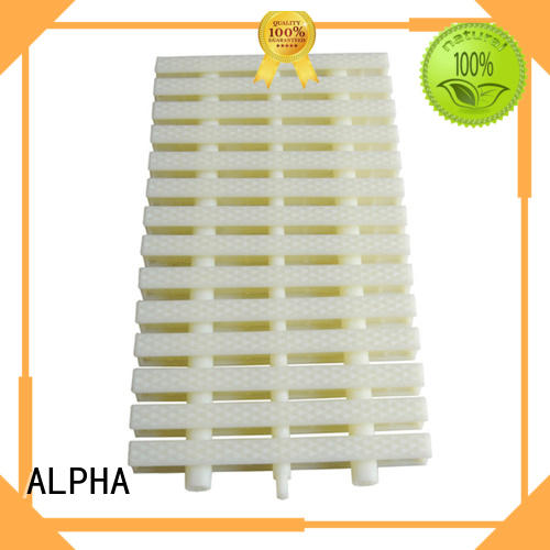 ALPHA wooden swimming pool handrails factory price for household