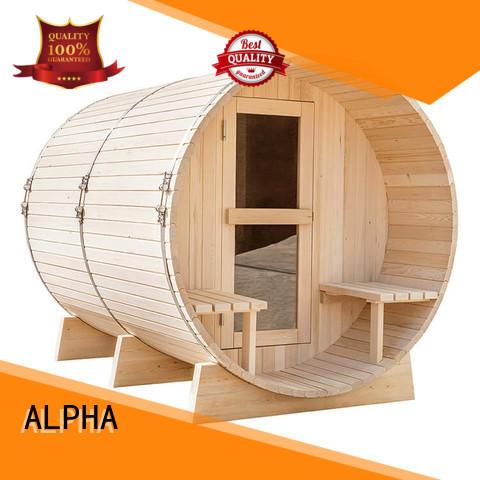 round sauna room room with good price for villa