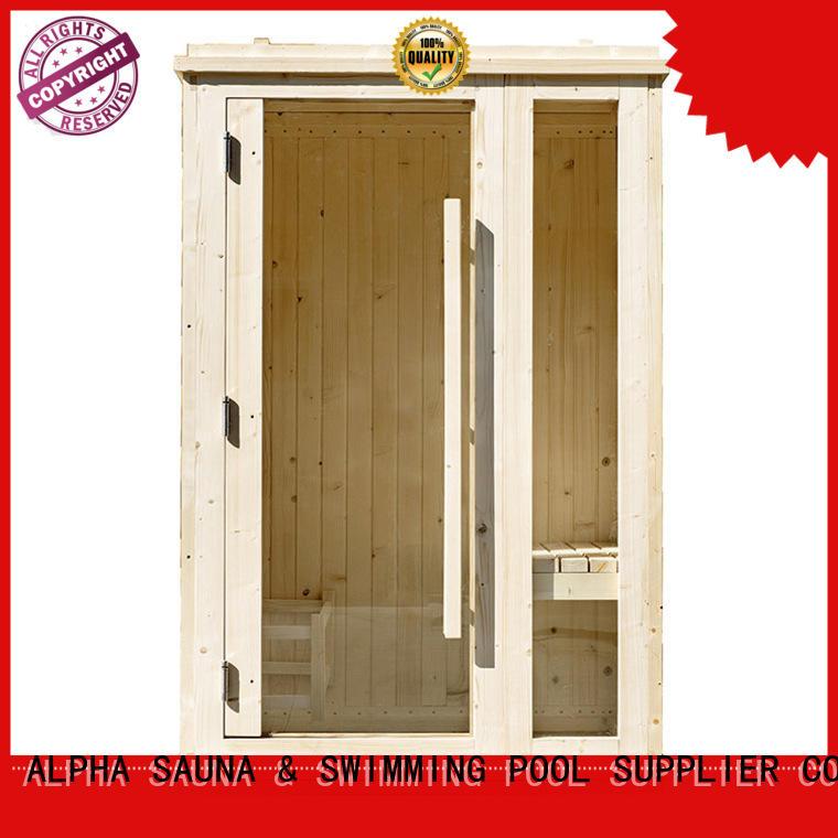 ALPHA room mini sauna customized for indoor