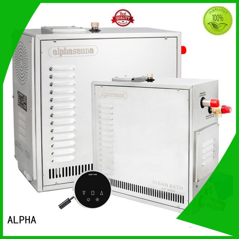 steam shower generator sauna for villa ALPHA