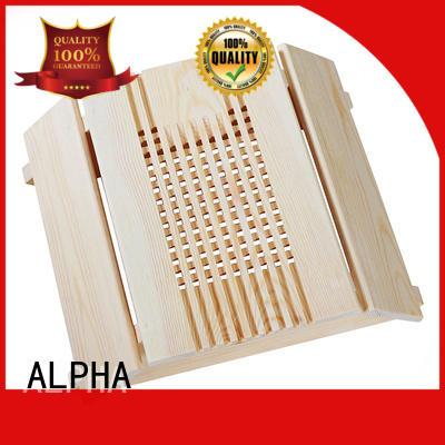 ALPHA original best sauna accessories with good price for outdoor